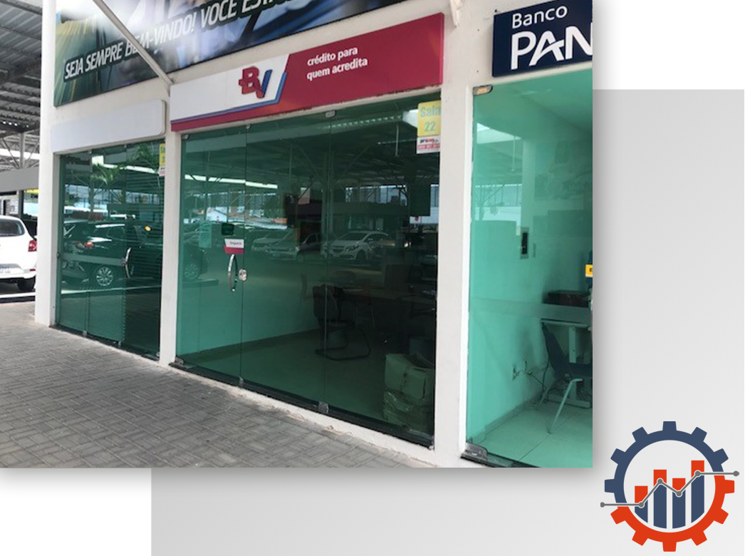 _Imagem 1 - Banco Votorantim - Auto Shop Carro Legal - João Pessoa - PB - Projetos de Adequação