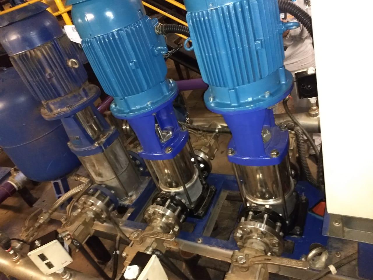 Imagem 2 - Shop. Passeio das Águas - Goiânia - GO - Gestão de Manutenção - Substituição de Bombas